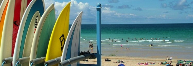 Beach Holiday Accommodation in South West England to Rent