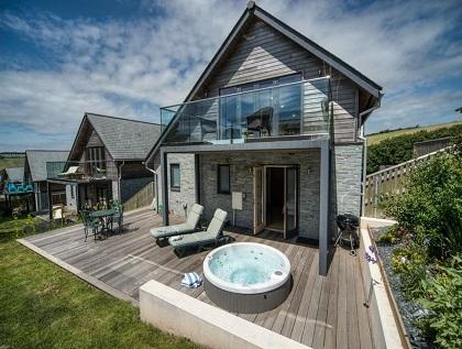 Talland Bay Luxury Hot Tub Holiday Home Cornwall