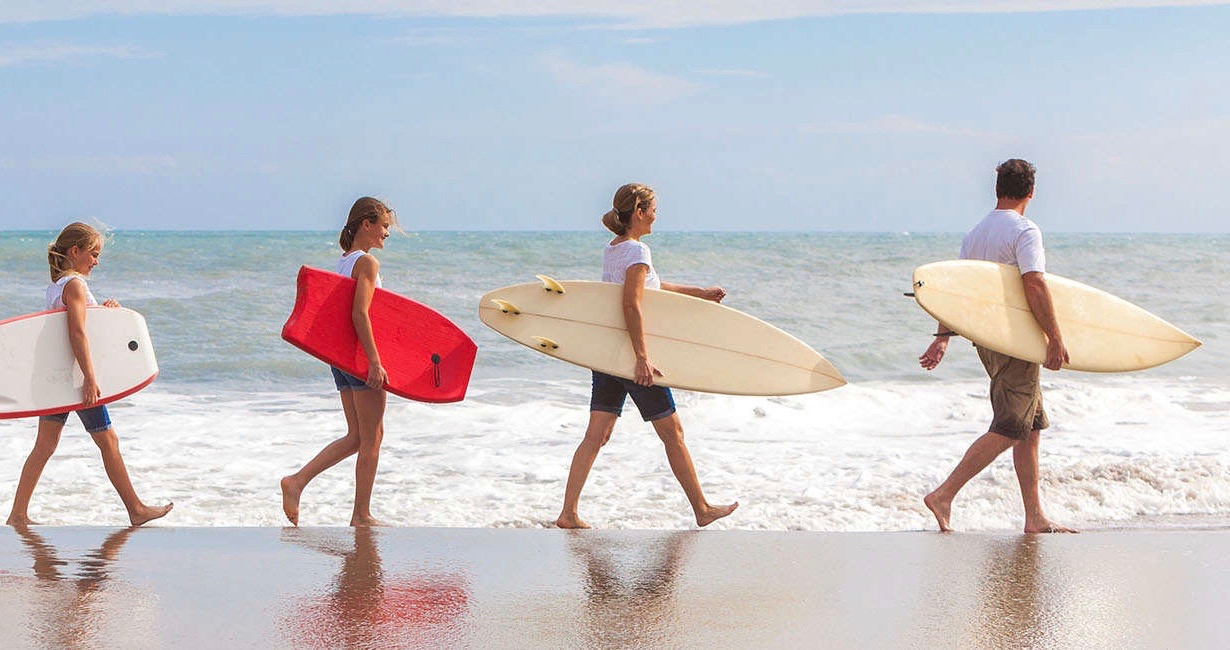 Trips to the beach voted best value by UK parents