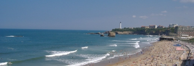 Beach Holiday Accommodation in Biarritz to Rent