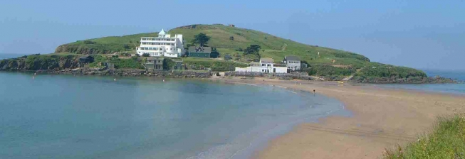 Beachfront Accommodation in Bigbury on Sea to Rent