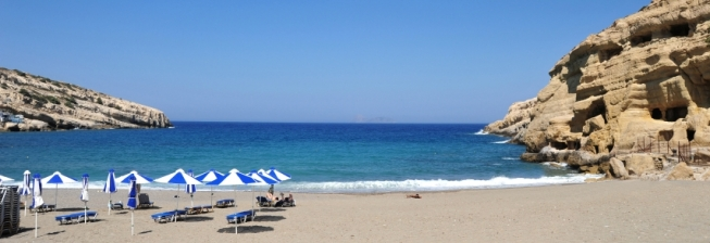 Beach Holiday Accommodation in Crete to Rent