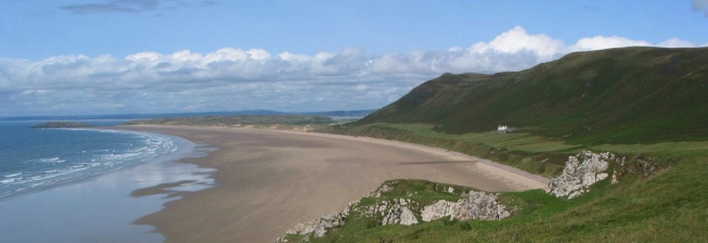 Beach Holiday Accommodation in South Wales to Rent