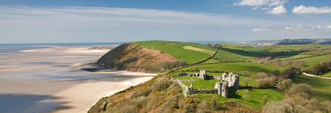 Beach Holiday Accommodation in Carmarthenshire to Rent