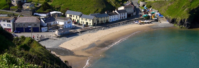 Beach Holiday Accommodation in Llangrannog to Rent