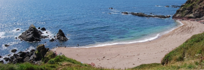Beach Holiday Accommodation in Ringmore to Rent