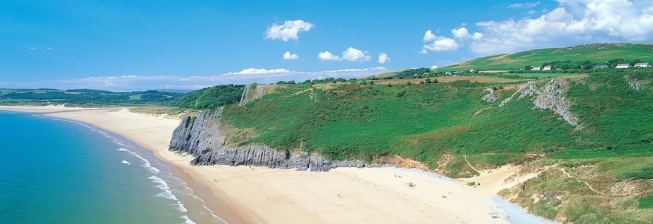 Beach Holiday Accommodation in Gower to Rent