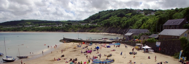 Beach Holiday Accommodation in New Quay to Rent
