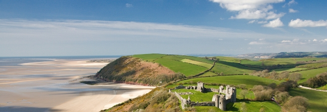 Beach Holiday Accommodation in Llansteffan to Rent