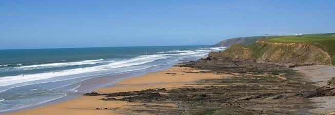 Beach Holiday Accommodation in Welcombe to Rent