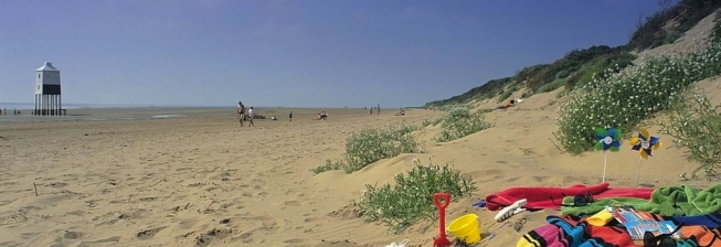 Beach Holiday Accommodation in Burnham on Sea to Rent