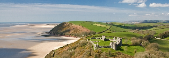Beachfront Accommodation in Laugharne to Rent