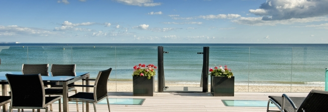 Beach Cottages in Sandbanks to Rent