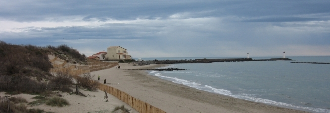 Beach Holiday Accommodation in Marseillan to Rent